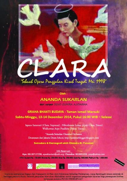 CLARA by ananda sukarlan